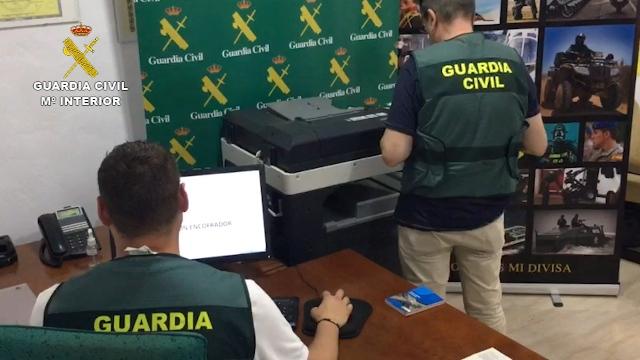 La Guardia Civil desmantela una academia que falsificaba diplomas y certificados de formación 2020-07-23_op_encofrador_01