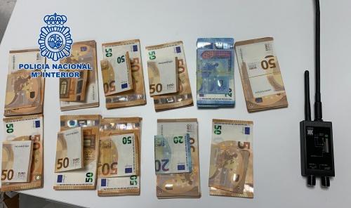 La Policía Nacional desarticula una red de narcotraficantes dedicada a transportar drogas desde España hasta Francia