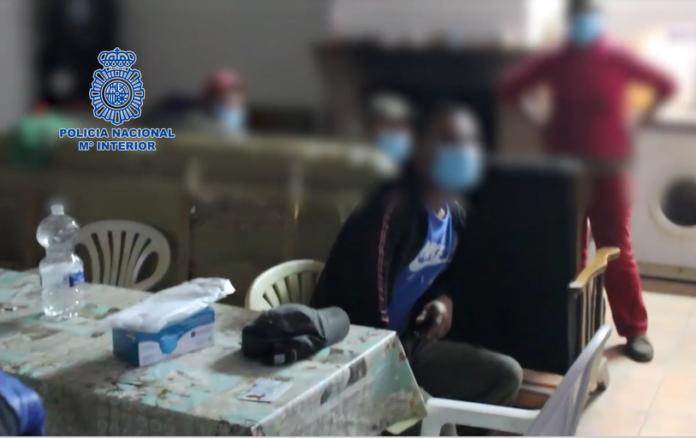 Siete personas han sido detenidas por delitos de trata de seres humanos y contra los derechos de los trabajadores