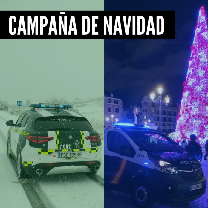 La Policía Nacional y la Guardia Civil, junto a las policías municipales y resto de cuerpos de seguridad han trabajado de forma incansable durante las Navidades para asegurar la protección y seguridad de todos los ciudadanos durante las fiestas.