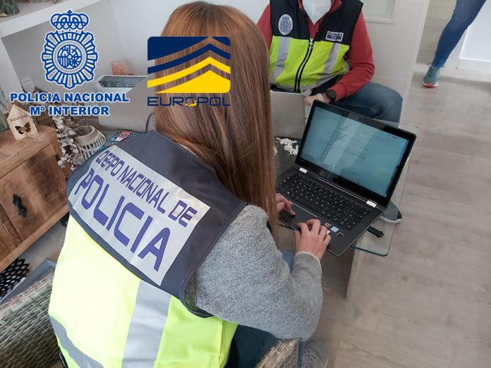 Policía Nacional, Policía de Andorra, la policía portuguesa, EUROPOL, INTERPOL y EUROJUST