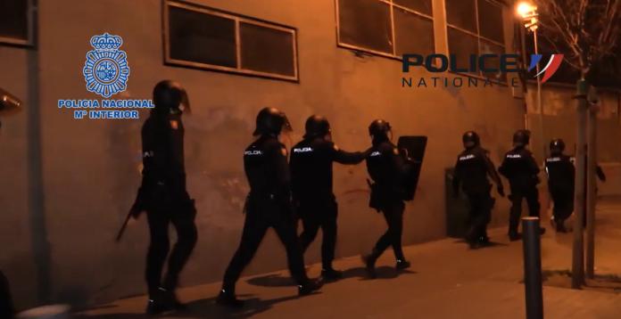 En un operativo conjunto con la Police Nationale de Francia contra la explotación sexual