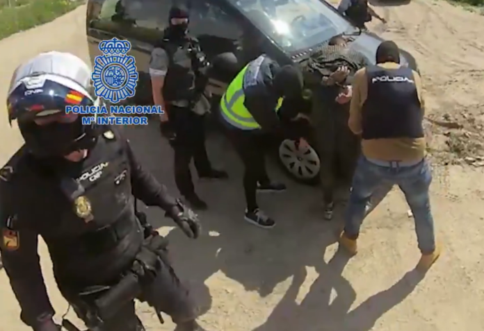 Persecución en Murcia