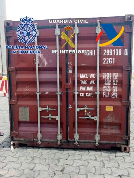 Operación internacional contra el narcotráfico