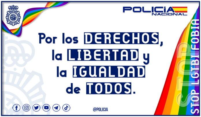 Stop a la LGTBIfobia por los derechos la libertad y la igualdad de todos