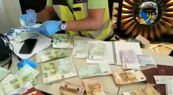 La Policía Nacional interviene una tonelada de cocaína en una operación con colaboración internacional