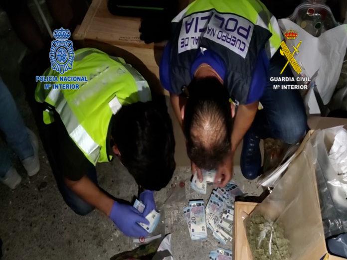 Desarticulada una de las organizaciones de tráfico de drogas más activas del norte de España