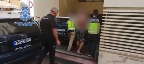La Policía Nacional detiene a un prófugo de las autoridades italianas